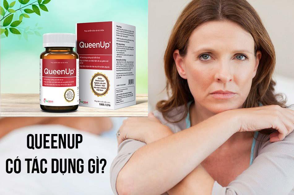 QueenUp có tác dụng gì?