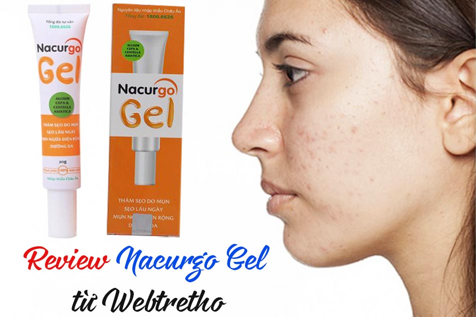 Review Nacurgo Gel từ Webtretho