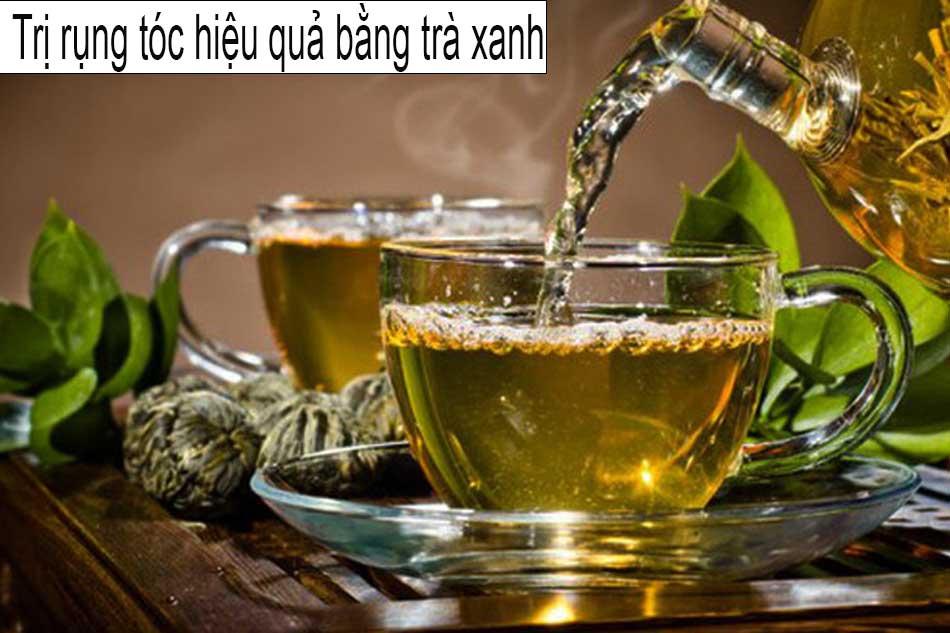 Cách trị rụng tóc nhanh, hiệu quả bằng trà xanh