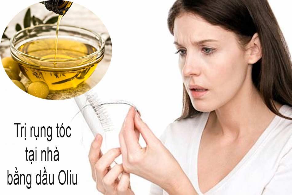 Cách trị rụng tóc tại nhà bằng dầu Oliu