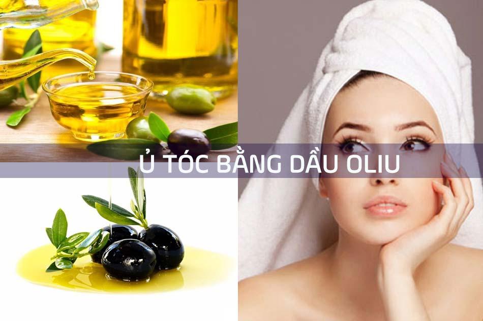 Ủ tóc bằng dầu Oliu