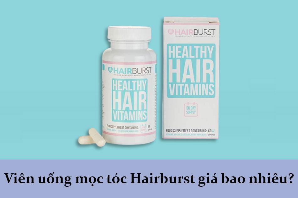 Viên uống mọc tóc Hairburst giá bao nhiêu?