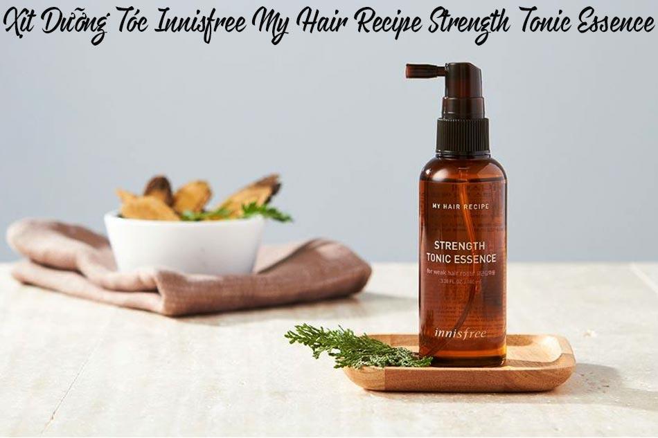 Xịt Dưỡng Tóc Innisfree My Hair Recipe Strength Tonic Essence