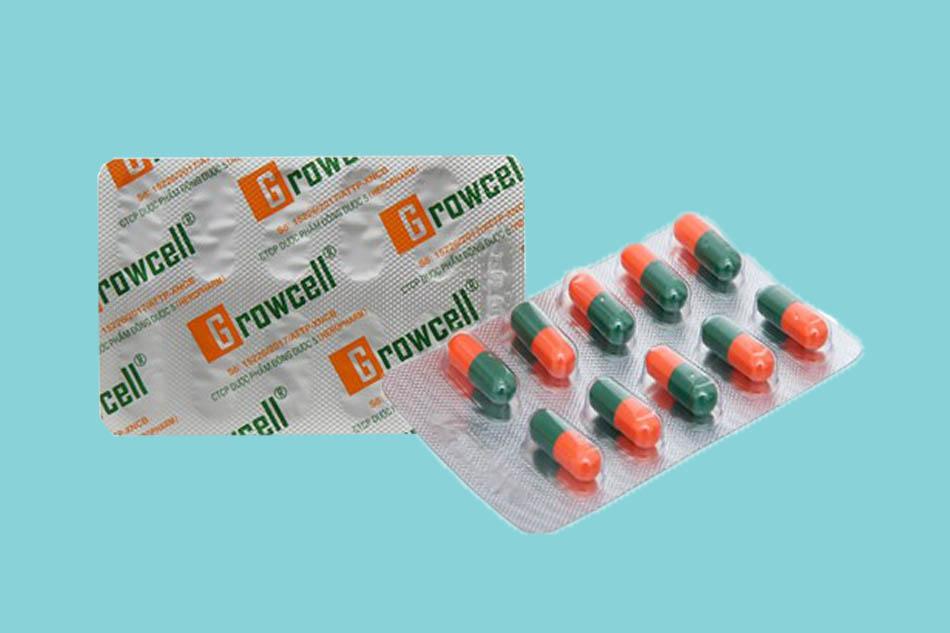 Công dụng của viên uống Growcell