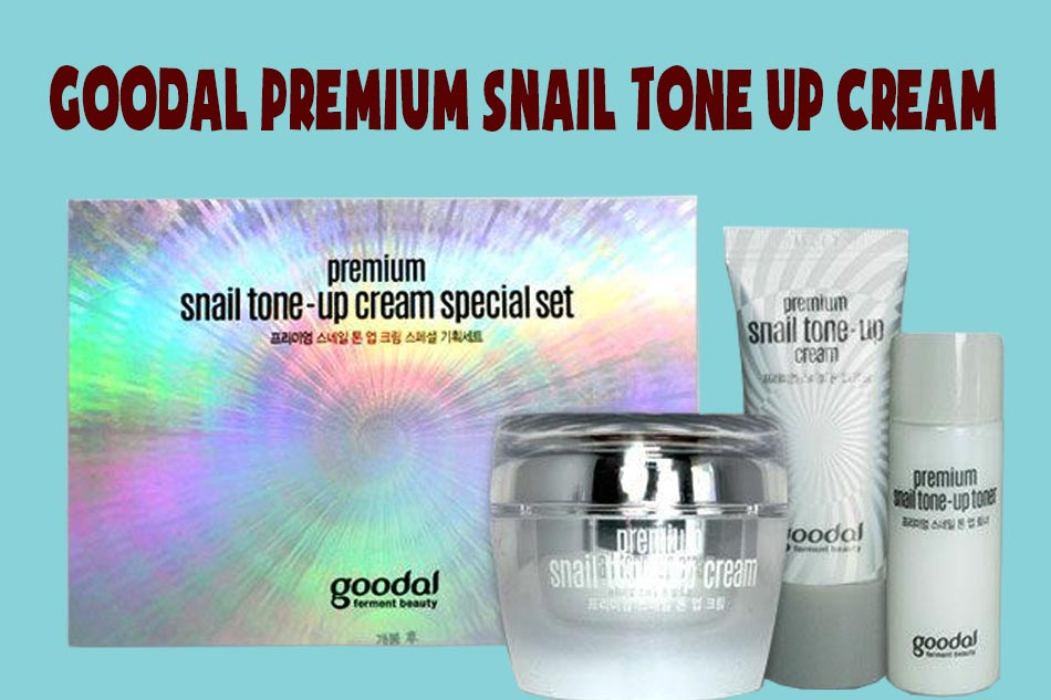 Goodal Premium Snail Tone Up Cream