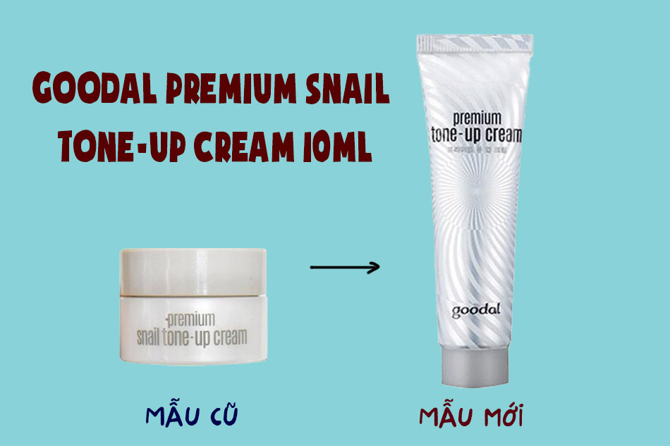 Goodal Premium Snail Tone-Up Cream 10ml