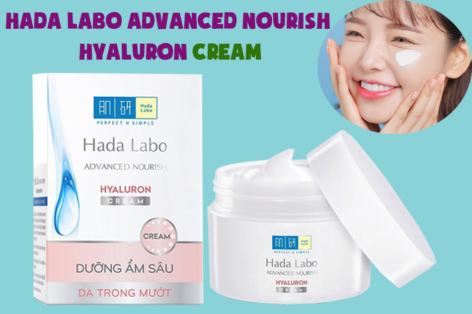 Hada Labo Advanced Nourish Hyaluron Cream