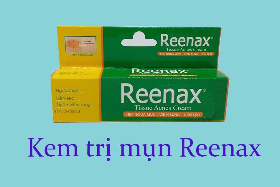 Kem trị mụn Reenax