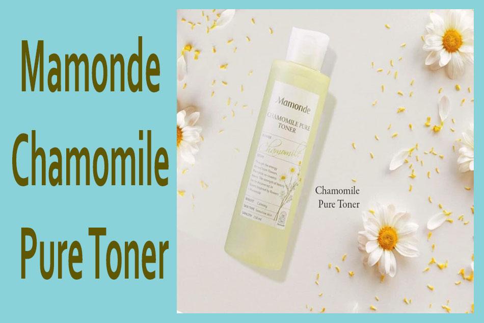 Nước hoa hồng cho da nhạy cảm Mamonde Toner hoa cúc - Mamonde Chamomile Pure Toner
