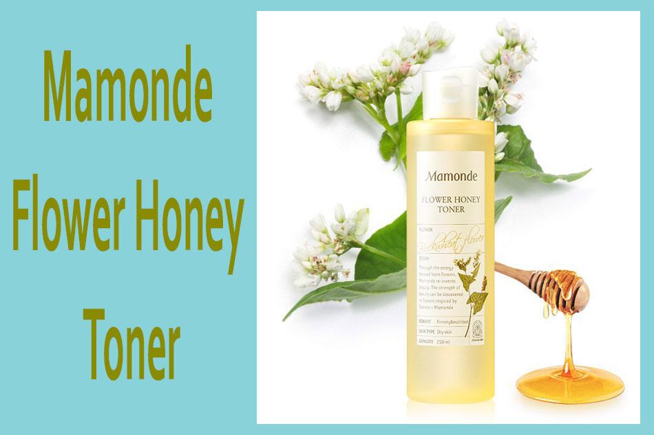 Nước hoa hồng Mamonde Flower Honey Toner cho da khô