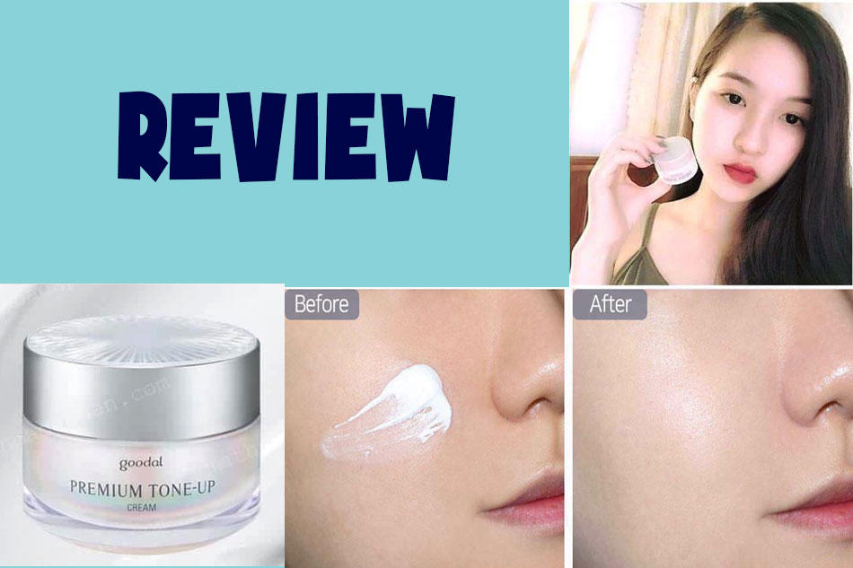 Review kem ốc sên Goodal Premium Snail Tone Up Cream