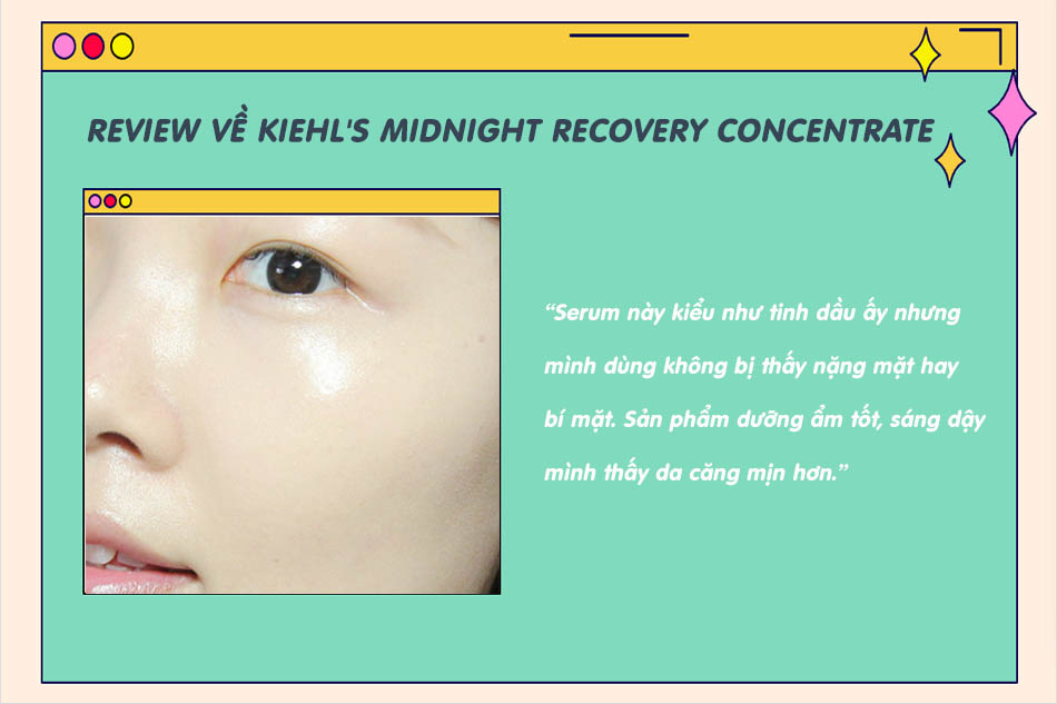 Review Kiehl's Midnight Recovery Concentrate