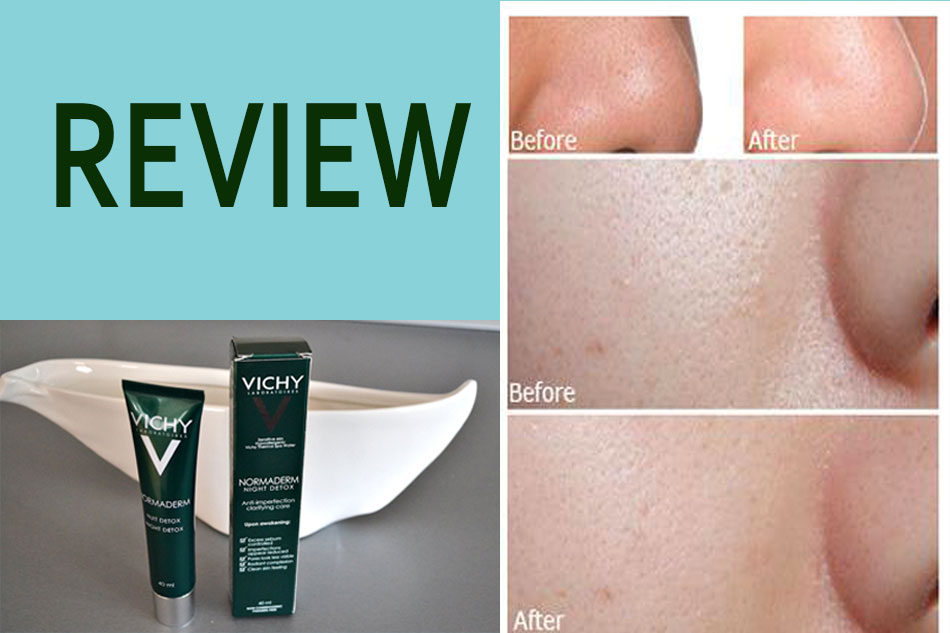 Review Vichy Normaderm Night Detox
