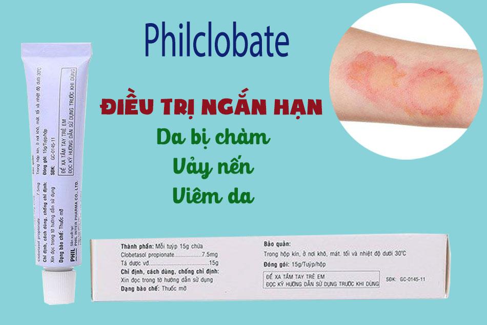 Tác dụng Philclobate