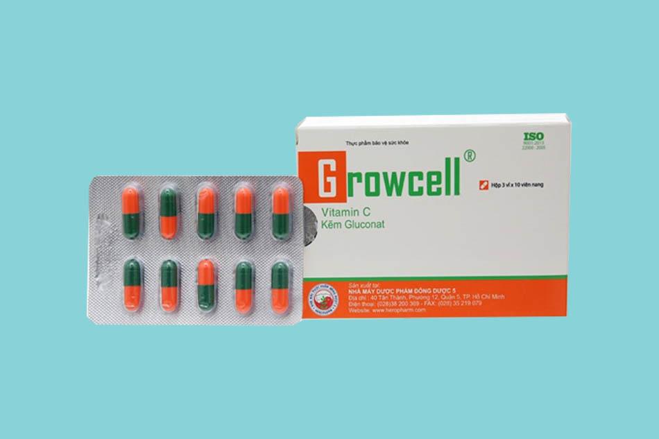 Viên uống Growcell là gì?