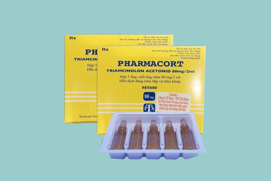 Cách dùng - Liều dùng của thuốc Pharmacort 80mg