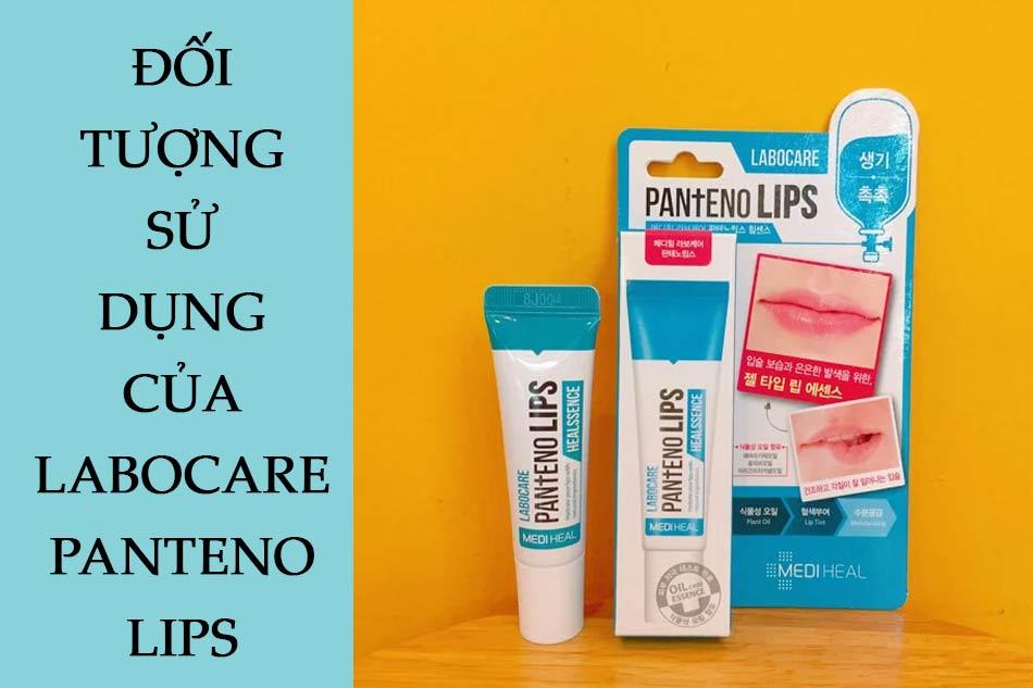 Đối tượng sử dụng của Labocare Panteno Lips