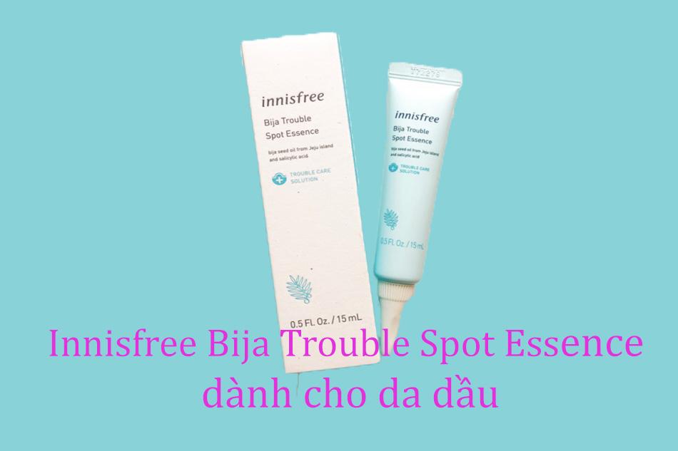 Kem trị mụn Innisfree Bija Trouble Spot Essence