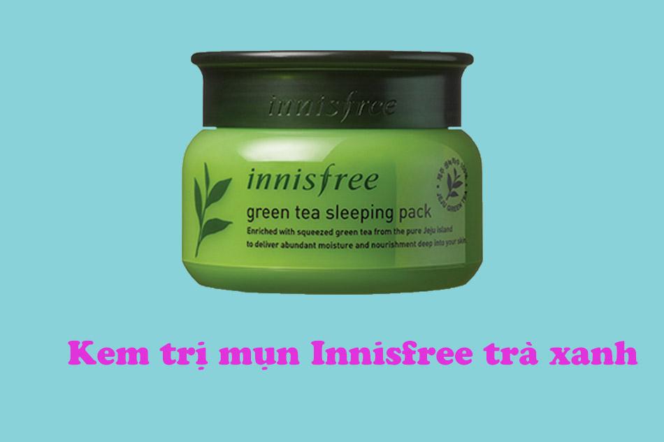 Kem trị mụn Innisfree trà xanh