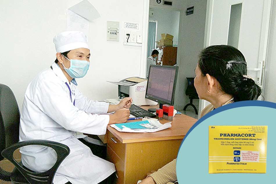 Lưu ý khi sử dụng thuốc tiêm sẹo lồi Pharmacort