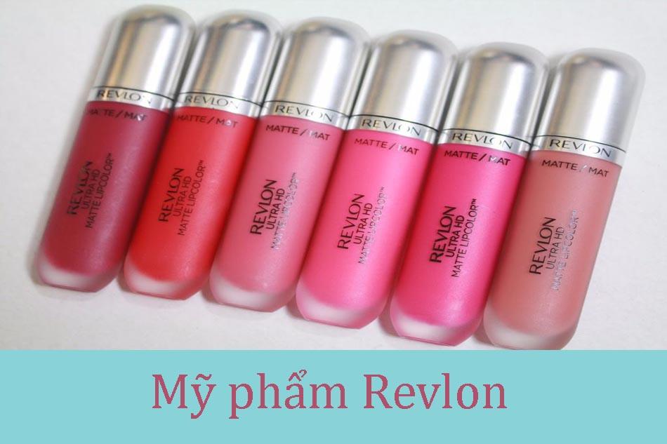 thương hiệu mỹ phẩm Revlon