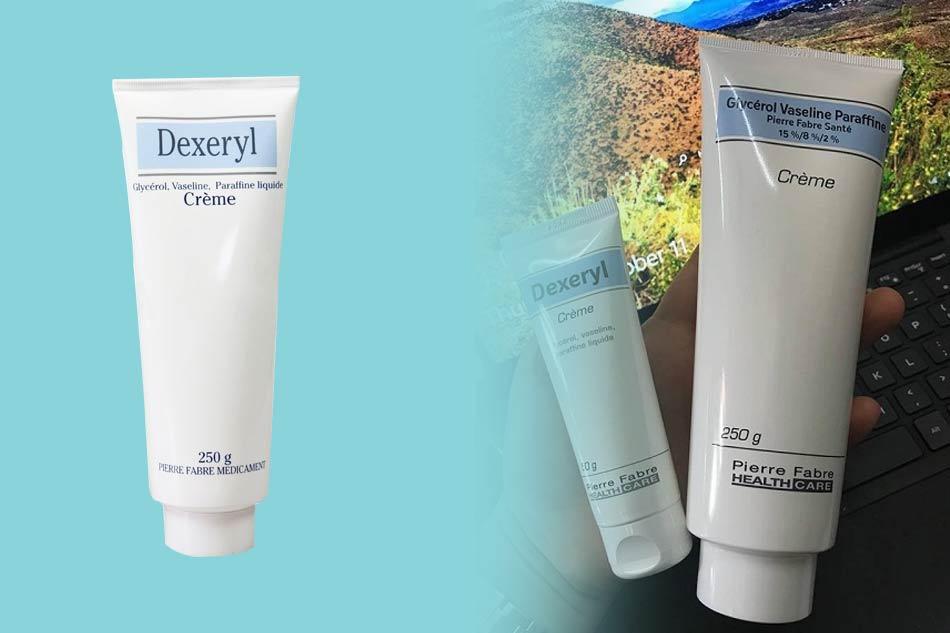 Review kem dưỡng ẩm Dexeryl