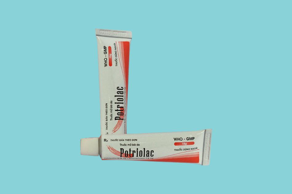 Tác dụng phụ của Potriolac