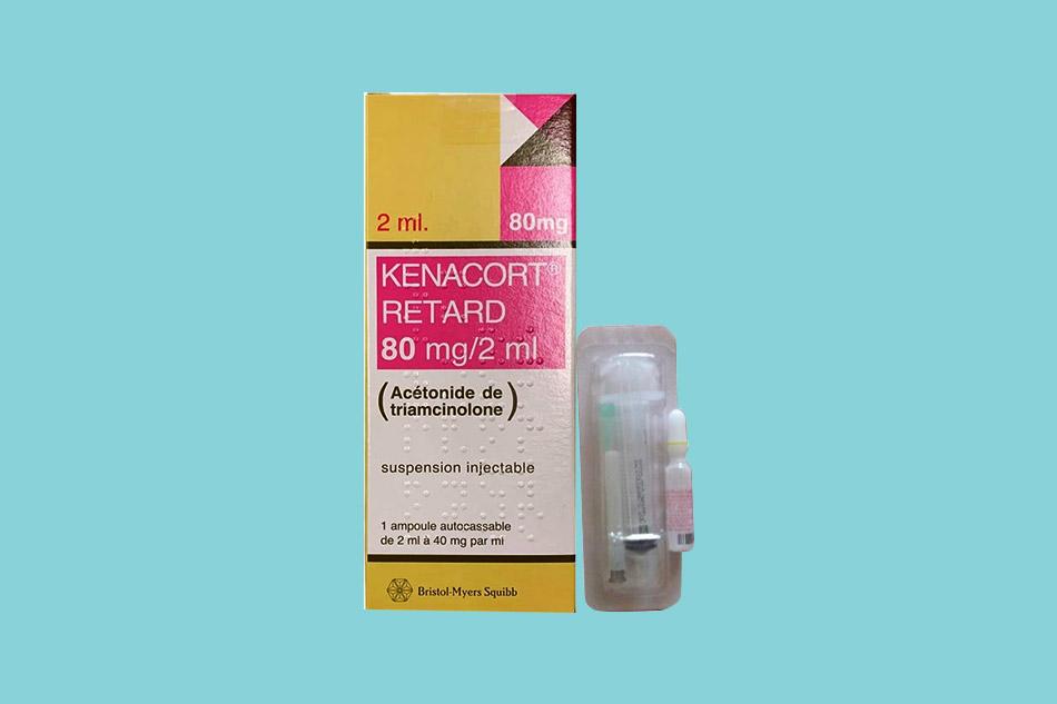 Tác dụng phụ của thuốc tiêm sẹo lồi Kenacort Retard 80mg