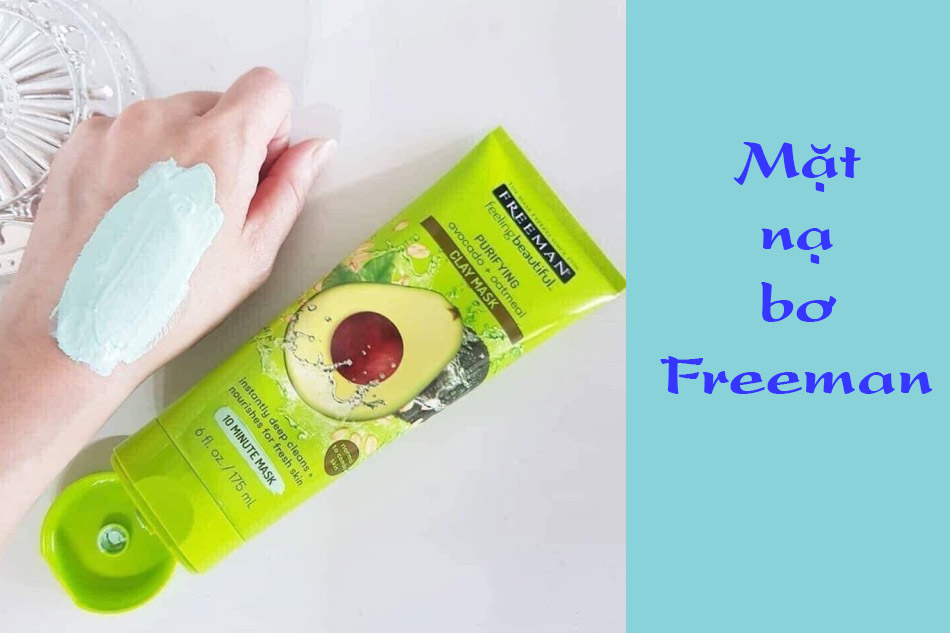 Mặt nạ bơ Freeman Purifying Avocado Oatmeal Facial Clay Mask
