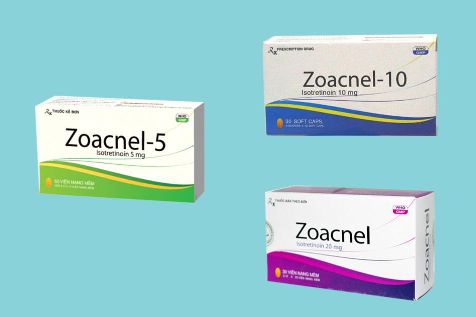 Các chế phẩm của thuốc Zoacnel