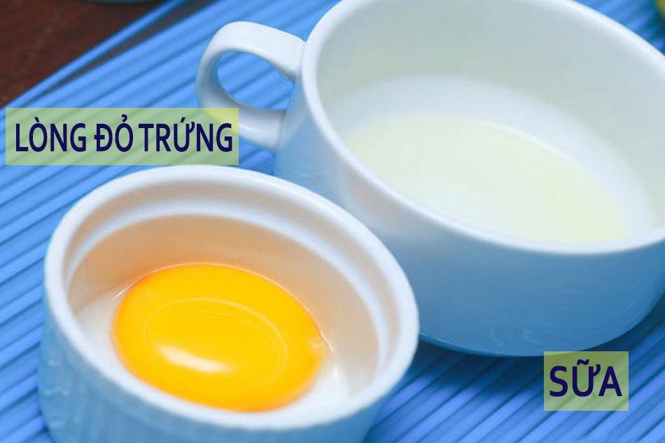 Cách chăm sóc móng tay, dưỡng ẩm bằng lòng đỏ trứng và sữa