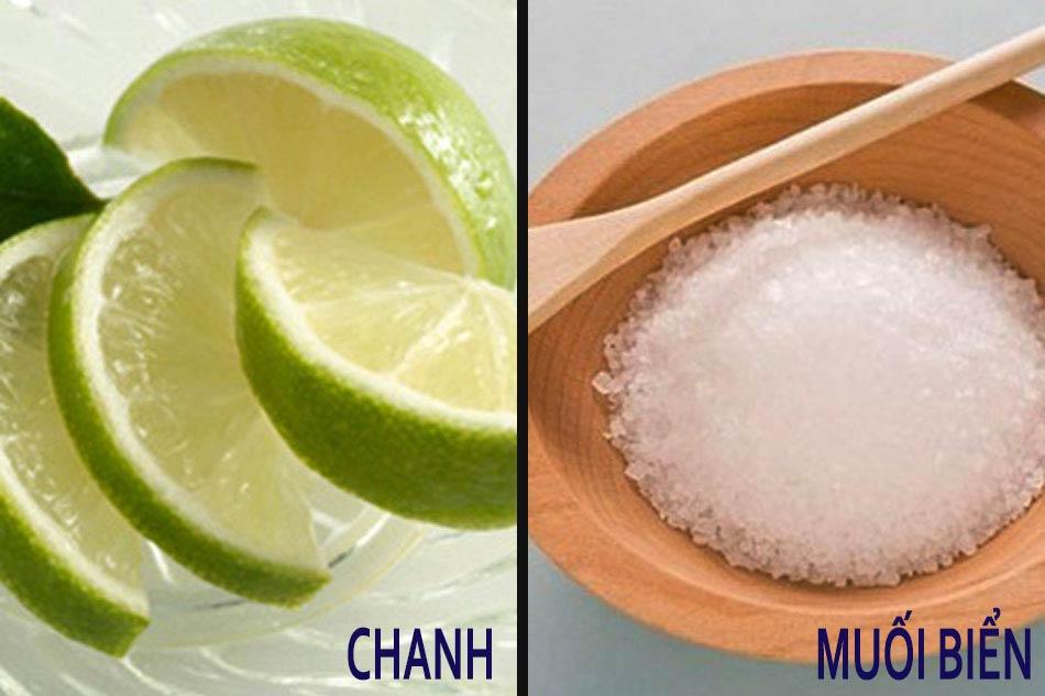 Cách chăm sóc móng tay sau khi làm Nail bằng muối biển và nước chanh