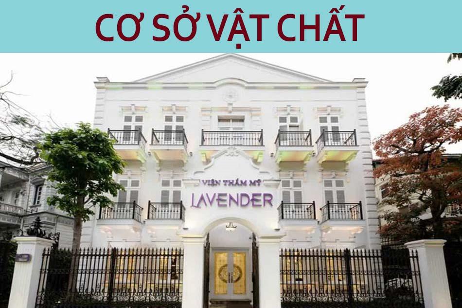 Cơ sở vật chất thẩm mỹ viện Lavender