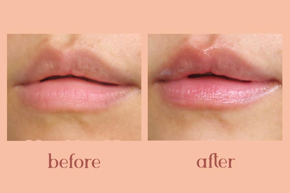Sau khi sử dụng môi sẽ mềm mịn và hồng hào hơn, giảm cảm giác khô trơ và vết thâm.
