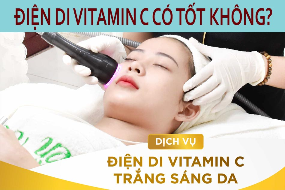 Phương pháp điện di Vitamin C có tốt không?