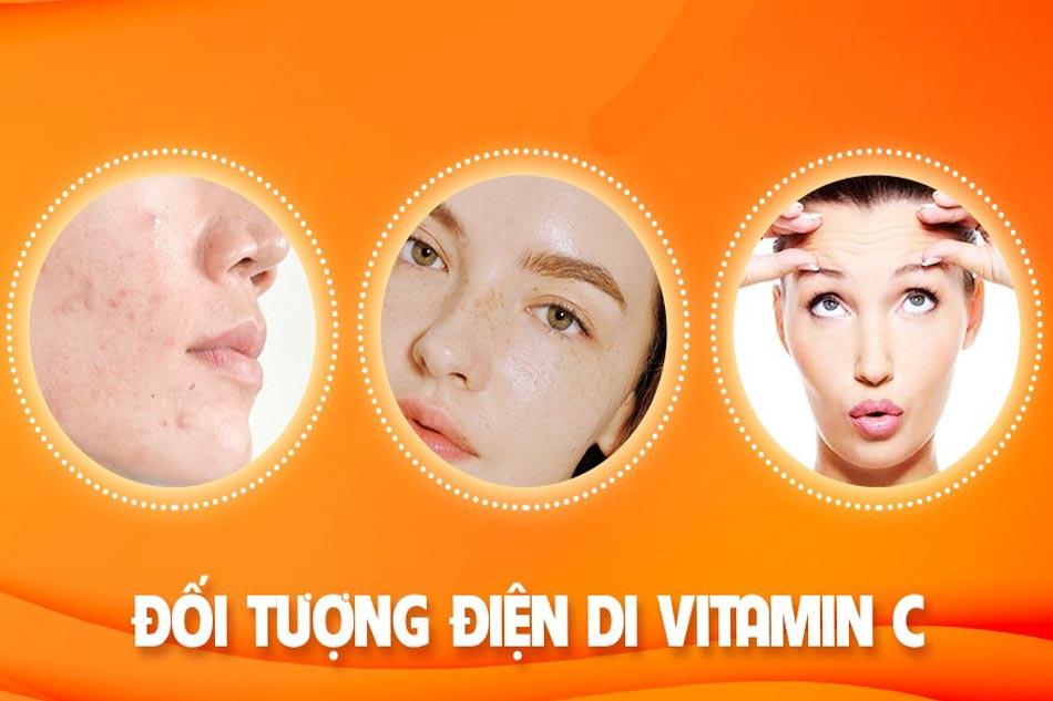 Điện di Vitamin C dành cho những ai?