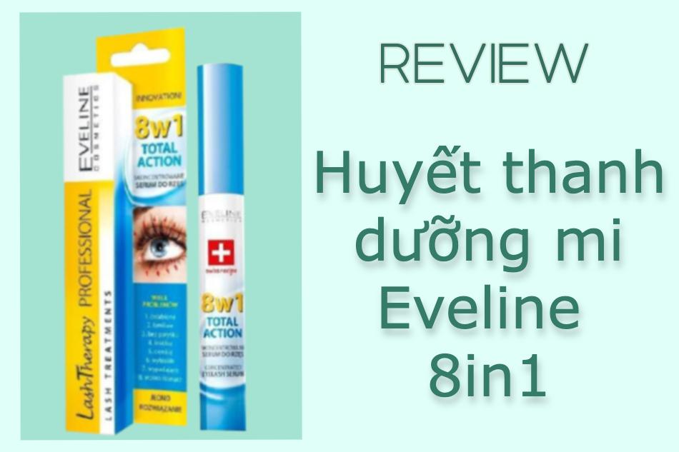 Dưỡng mi Eveline 8in1