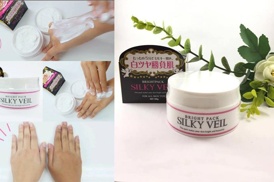 Review kem Silky Veil trên Webtretho
