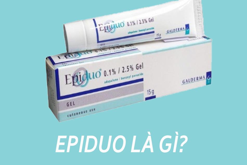 Gel trị mụn Epiduo Galderma là gì?