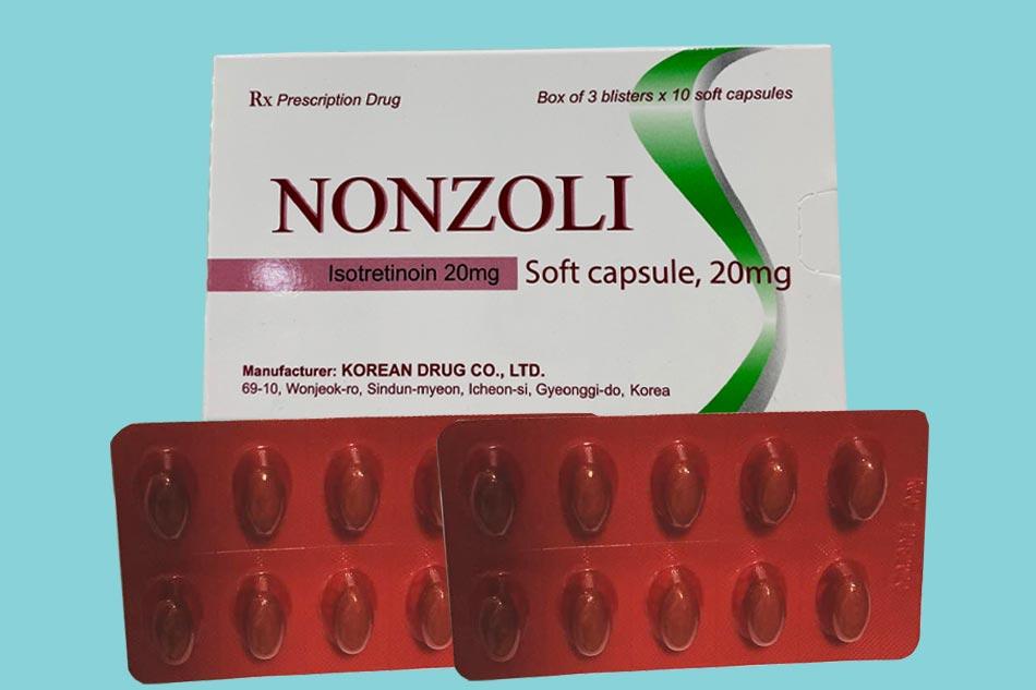 Thuốc trị mụn Nonzoli giá bao nhiêu?