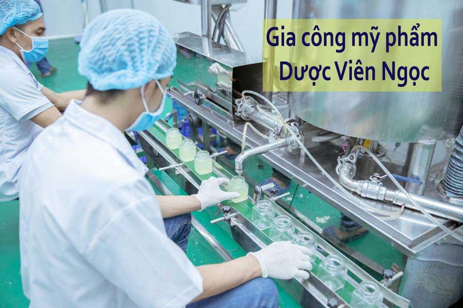 Gia công mỹ phẩm tại Hà Nội - Dược Viên Ngọc
