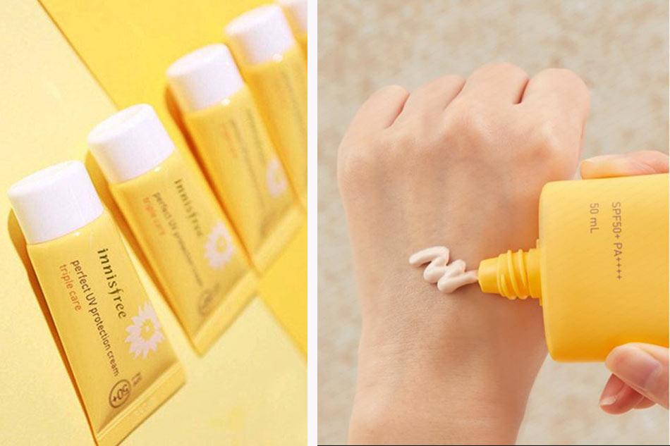 Kem chống nắng cho da dầu mụn Innisfree Intensive Triple Care Sunscreen SPF50+/PA+++