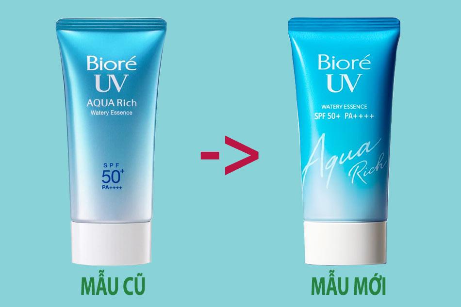 Kem chống nắng không cồn cho da nhạy cảm BIORÉ UV Aqua Rich Water Essence