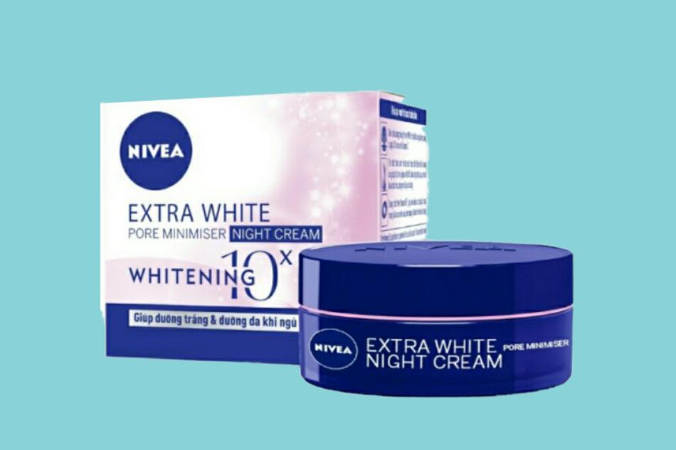 Kem dưỡng ẩm Nivea Extra White Night Cream