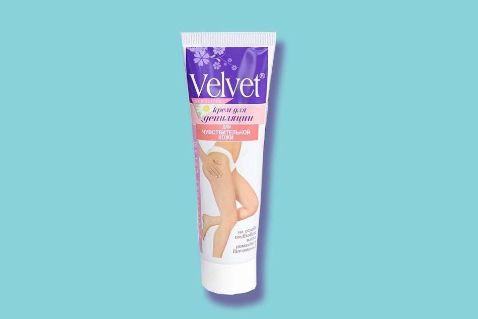 Thiết kế kem tẩy lông Velvet