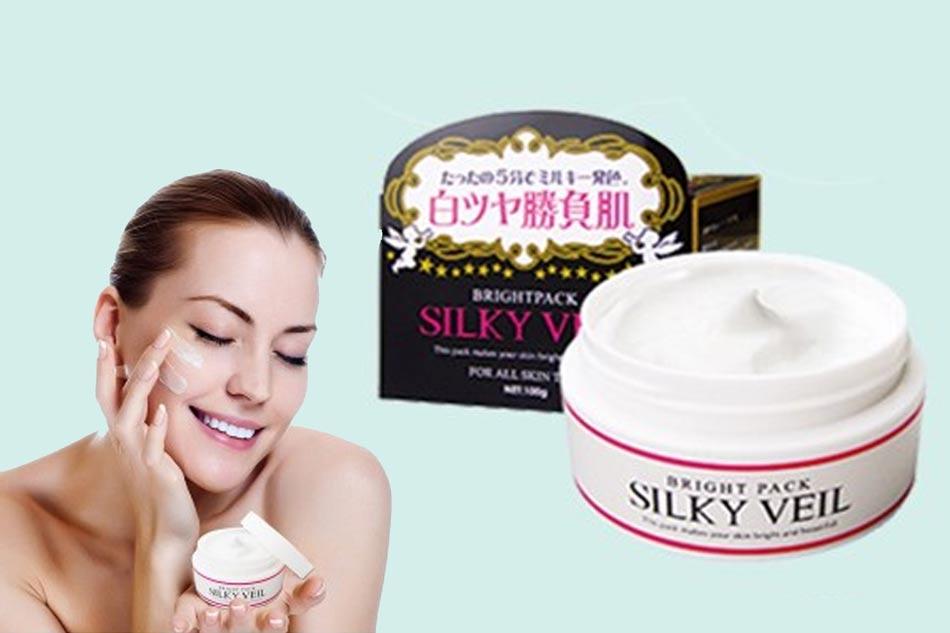 Kem dưỡng trắng da Silky Veil