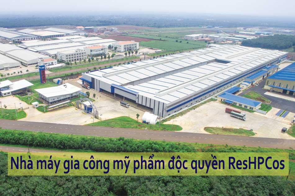 Nhà máy gia công mỹ phẩm độc quyền ResHPCos