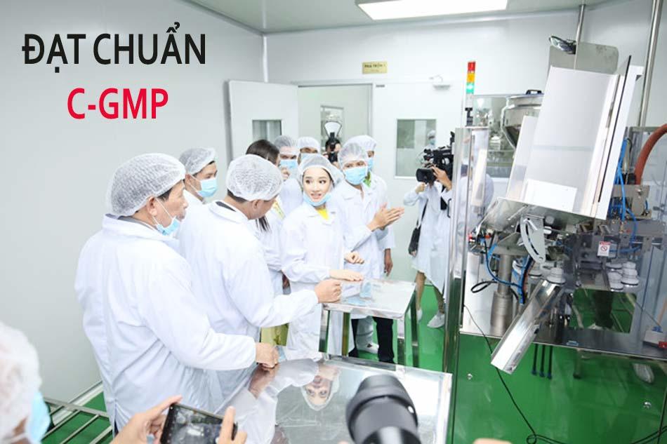 Nhà máy sản xuất mỹ phẩm SHC