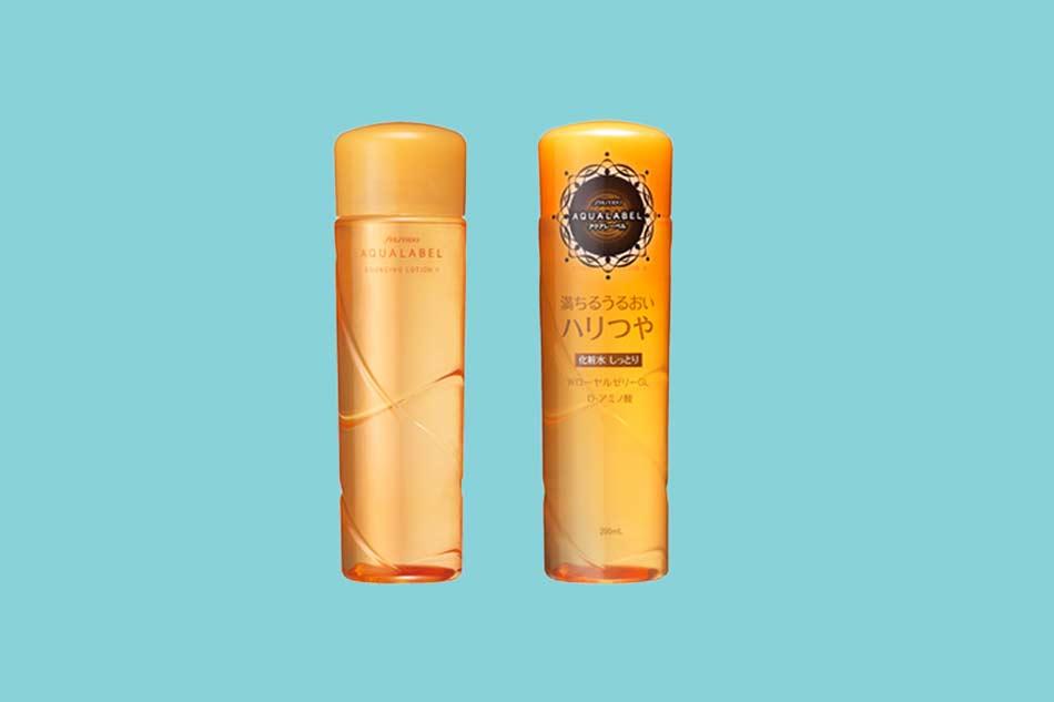 Nước hoa hồng chống lão hóa Shiseido Aqualabel Bouncing Care Lotion