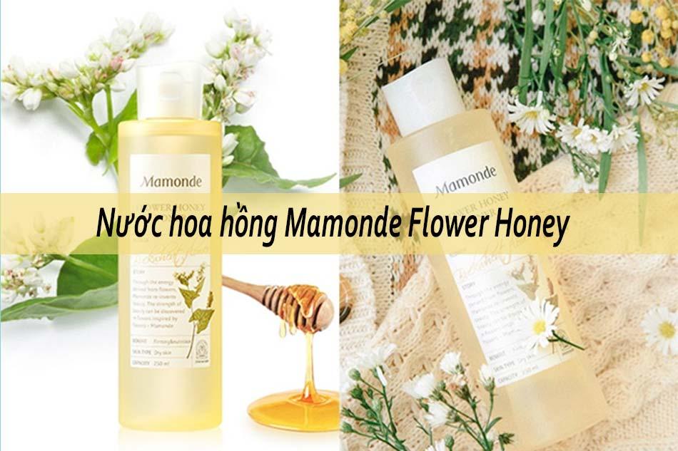 Nước hoa hồng Mamonde Flower Honey dành cho da hỗn hợp không cồn
